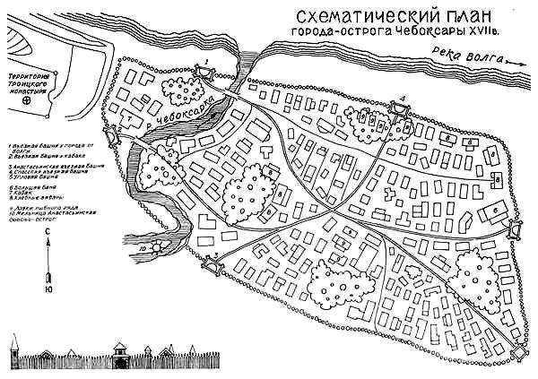 Острог Чебоксар в