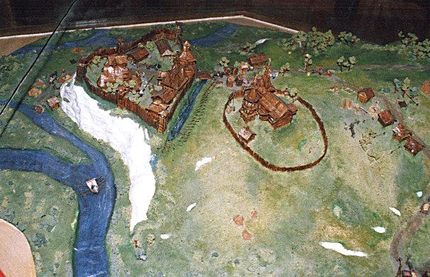 Схема крепости 16 в и ее же