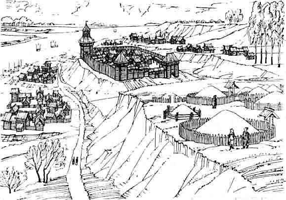 рисунки города: